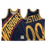 Camiseta Golden State Warriors Personalizada Mitchell & Ness Big Face Azul