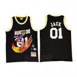 Camiseta Houston Rockets x Cactus Jack #01 Negro