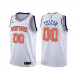 Camiseta New York Knicks Personalizada Statement Blanco