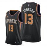 Camiseta Phoenix Suns Cameron Johnson #13 Statement 2019-20 Negro