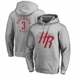Sudaderas con Capucha Chris Paul Houston Rockets Gris4