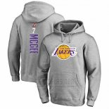 Sudaderas con Capucha Javale Mcgee Los Angeles Lakers Gris