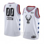 Camiseta All Star 2019 Milwaukee Bucks Personalizada Blanco