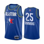 Camiseta All Star 2020 Philadelphia 76ers Ben Simmons #25 Azul