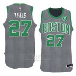 Camiseta Boston Celtics Daniel Theis Navidad 2018 Verde