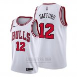 Camiseta Chicago Bulls Daniel Gafford #12 Association Blanco