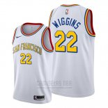 Camiseta Golden State Warriors Andrew Wiggins #22 Classic 2019-20 Blanco
