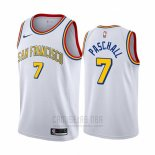 Camiseta Golden State Warriors Eric Paschall #7 Hardwood Classics Blanco