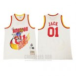 Camiseta Houston Rockets x Cactus Jack #01 Blanco