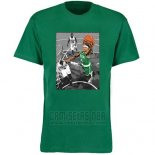 Camiseta Manga Corta Boston Celtics Verde