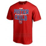 Camiseta Manga Corta Detroit Pistons Blake Griffin Rojo The Poster Child