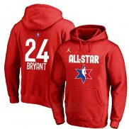 Sudaderas con Capucha All Star 2020 Los Angeles Lakers Kobe Bryant Rojo