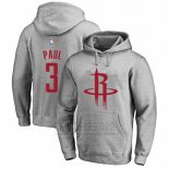 Sudaderas con Capucha Chris Paul Houston Rockets Gris2