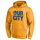 Sudaderas con Capucha Golden State Warriors Amarillo Our City