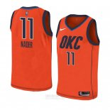 Camiseta Oklahoma City Thunder Abdel Nader #11 Earned 2018-19 Naranja
