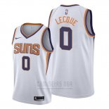 Camiseta Phoenix Suns Jalen Lecque #0 Association 2019-20 Blanco