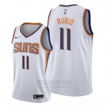Camiseta Phoenix Suns Ricky Rubio #11 Association Blanco