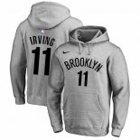 Sudaderas con Capucha Kyrie Irving Brooklyn Nets 2019-20 Gris2