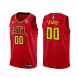 Camiseta Atlanta Hawks Jeff Teague #00 Statement 2020-21 Rojo