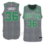 Camiseta Boston Celtics Marcus Smart Navidad 2018 Verde