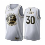 Camiseta Golden Edition Golden State Warriors Stephen Curry #30 Blanco