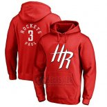 Sudaderas con Capucha Chris Paul Houston Rockets Rojo4
