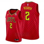 Camiseta Atlanta Hawks Cam Reddish #2 Statement 2019-20 Rojo