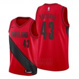 Camiseta Portland Trail Blazers Anthony Tolliver #43 Statement Rojo