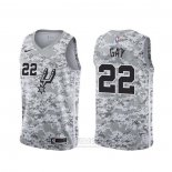 Camiseta San Antonio Spurs Rudy Gay #22 Earned Camuflaje
