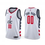 Camiseta Washington Wizards Personalizada Ciudad Blanco2