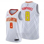 Camiseta Atlanta Hawks Isaac Humphries #8 Blanco Association