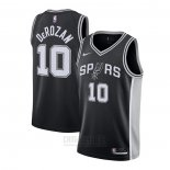 Camiseta San Antonio Spurs DeMar DeRozan #10 Icon 2020-21 Negro