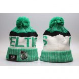 Gorro Beanie Boston Celtics Blanco Verde