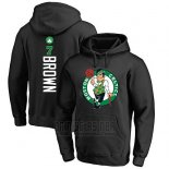 Sudaderas con Capucha Jaylen Brown Boston Celtics Negro