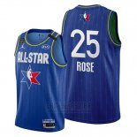 Camiseta All Star 2020 Detroit Pistons Derrick Rose #25 Azul