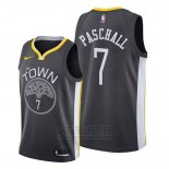 Camiseta Golden State Warriors Eric Paschall #7 Statement 2019-20 Negro