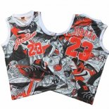 Camiseta Michael Jordan Commemorative Gris