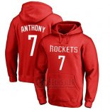 Sudaderas con Capucha Carmelo Anthony Houston Rockets Rojo2
