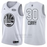 Camiseta All Star 2018 Golden State Warriors Stephen Curry #30 Blanco