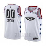 Camiseta All Star 2019 New Orleans Pelicans Personalizada Blanco