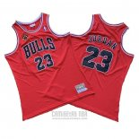 Camiseta Chicago Bulls Michael Jordan #23 1997-98 Finals Rojo