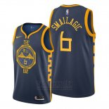 Camiseta Golden State Warriors Alen Smailagic #6 Ciudad Azul
