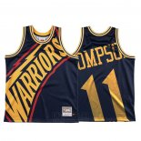 Camiseta Golden State Warriors Klay Thompson #11 Mitchell & Ness Big Face Azul