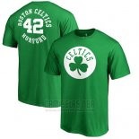 Camiseta Manga Corta Al Horford Boston Celtics Verde3