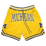 Pantalone Air Jordan Just Don NCAA Michigan Amarillo