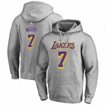Sudaderas con Capucha Javale Mcgee Los Angeles Lakers Gris2