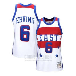 Camiseta All Star 1980 Julius Erving #6 Blanco