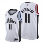 Camiseta Los Angeles Clippers Maurice Harkless #11 Classic 2019-20 Blanco