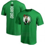 Camiseta Manga Corta Al Horford Boston Celtics Verde2