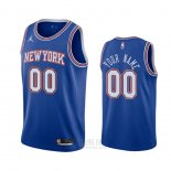 Camiseta New York Knicks Personalizada Statement 2020-21 Azul